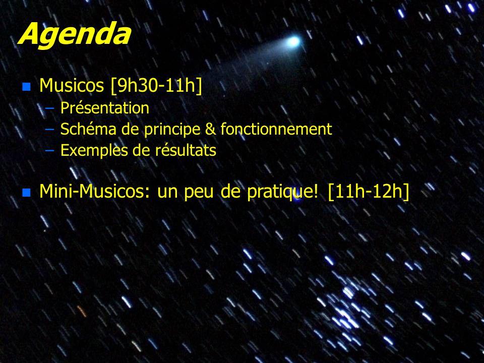 Agenda Musicos [9h30-11h] Mini-Musicos: un peu de pratique! [11h-12h]